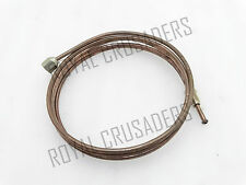 WILLYS FORD JEEP 81'' CHASSIS BRAKE OIL PIPE COPPER MADE #G104 (CODE3360)