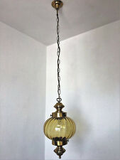 1 fl. Hängelampe  Deckenlampe Lampe Kugel 70er