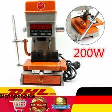 Top Schlüsselmaschine Schlüsselfräse 220V 50Hz 90W Bohrmuldenmaschine EU Plug