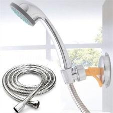 1.5m Stainless Steel Flexible Chrome Shower Hose Bathroom Heater Water Head Pipe