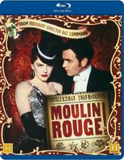 Moulin Rouge! (2001) Nicole Kidman Ewan McGregor Blu-Ray Brand New Free Ship