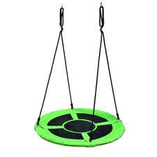 Balançoire 100cm pour Enfants de Jardin Disque Forme Ronde