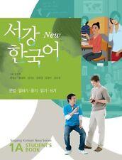 Sogang Korean 1A Student's Book w/ CD Korean language Free Ship new
