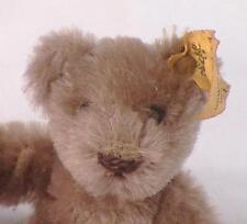 Steiff Teddy Bear Plush Animal w Button & Tag Caramel 3in. Germany 0202/11