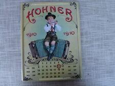 Hohner  Werbetafel  mit Kalender