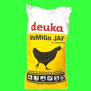 Deuka VOMIGO Junghennen Pellets Futter 25 kg  wirkt gegen die rote Vogelmilbe