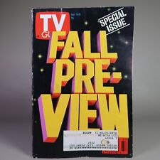 Vintage Original TV Guide FALL PREVIEW Sep 14 - 20 1991 SPECIAL ISSUE