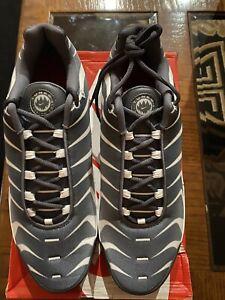 "Nike Air Max Plus TN SE ""BEFORE THE BITE'' Grey/White/Red AQ0237-100 Men's 12"