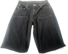 Levi's Men's 560 Black Denim Jeans 36 X 32 Loose Fit, Tapered Leg Zipper Fly