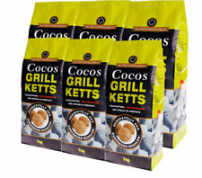 Cocos Grillketts - ökologische Grill Briketts aus Kokos-Kohle 18kg