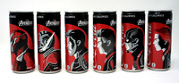 Coca-Cola ZERO x AVENGERS Collection Limited JP Set of 6 Coke Soda Pop Endgame