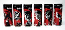 Coca-Cola ZERO x AVENGERS Collection Limited JP Set of 6 Coke Soda Pop Endgame