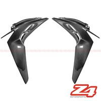2017-2019 Z1000R Front Side Radiator Cover Panel Fairing Cowling Carbon Fiber