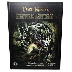 Dark Heresy Creatures Anathema - Warhammer 40k Fantasy Flight Games Workshop