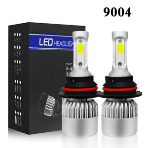 9004 HB1 LED Headlight Kit 2300W 345000LM Hi/Low Beam Light Bulbs White 6000K US