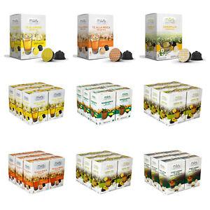 Dolce Gusto Tea Pods Lemon, Peach, Earl Grey, Jasmine, Mint; Compatible Capsules