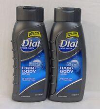 2 Dial For Men Hydro Fresh Hair & Body Wash 21 Oz
