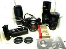 Canon A1 Ausrüstung