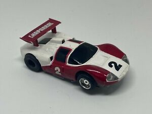 Tyco - #2 Chaparral - HO Slot Car