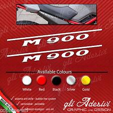 Coppia adesivi Ducati Monster M 900 M900 per fianchetto