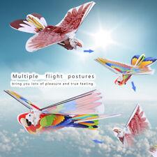 Plastic Flying RC Birds Eagle Parrot Kids Children Remote Control Bird Toys