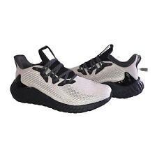 Adidas Alphaboost Boost Running Shoes Sneakers Black Grey FW4548 Mens Size 10.5