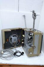 Foton Elektor - Junior 16 mm Filmprojektor mit Röhrenverstärker und Lautsprecher