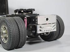 Aluminum Rear Tail Bumper Guard Beam for Tamiya RC 1/14 King Grand Hauler Truck