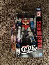 Transformers Generations - Siege : War for Cybertron - Starscream New In Box