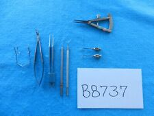 Storz MSI Surgical Ophthalmic Instruments Lot Of 8
