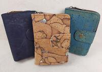 Damen Portemonnaie Geldbörse Geldbeutel Kork groß Portmonee vegan Geschenkbox