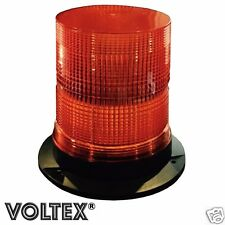 "VOLTEX® 7"" STROBE BEACON 16 WATT LED AMBER PILOT ESCORT CAR TOW TRUCK LIGHTBAR"