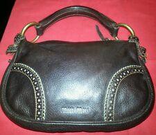 Miu Miu Mini Brown Leather Purse Handbag