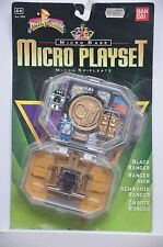 MICRO PLAYSET. BLACK RANGER