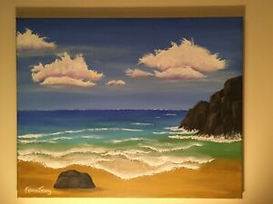 Seascape Contemporary art in   by artist Karen Terry