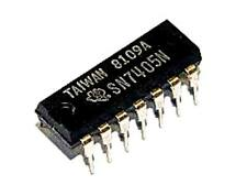 5 PCS ti sn7404n DIP these devices contain Six Independent