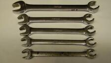 SNAP-ON 5PC SAE OPEN END/FLARE NUT WRENCH SET