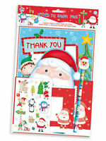 Letter To Santa Pack Activity Pack Stickers Pencil Eraser