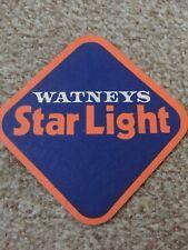 Watneys Star Light Beer Mat Over 30 Years Old