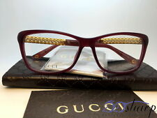 Gucci Eyeglasses-GG 3695 3JA 54 Red Gold Plated