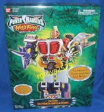 Power Rangers Wild Force Deluxe ULTIMUS Megazord New Factory Sealed