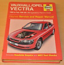 VAUXHALL Vectra  1995 - 02/1999 Repair Manual Reparaturanleitung Haynes H3395