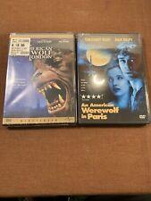 An American Werewolf in Paris & American Werewolf in London lot of 2 Dvds