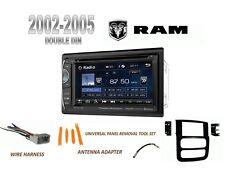 "NEW 2002-2005 DODGE RAM PICKUP BLUETOOTH 6.2"" LCD DVD 2 DIN CAR STEREO COMBO"