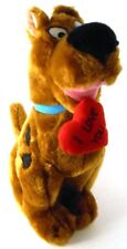 """Scooby Doo 11"""" Plush with Red I LOVE YOU Heart with Tags Valentines Day"""