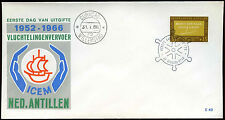Netherlands Antilles 1966 ICEM FDC First Day Cover #C26593