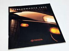 1995 Toyota Supra Celica Paseo Brochure