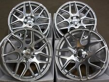 "Argent 18"" M CR1 alloy wheels Fit Vauxhall Opel Astra Corsa Signum Vectra Zafira"