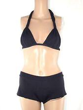 calzedonia cobey bikini nero triangolare culotte taglia 2 eu 70 s small