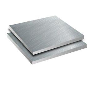 2pcs Aluminum 6061 Aluminium Sheet Plate 100mm x 100mm x 4mm